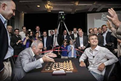 Magnus Carlsen, le Mozart des échecs