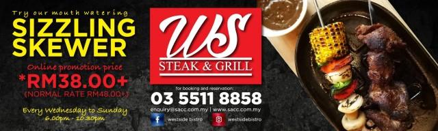 Menikmati Hidangan Sizzling Skewer dari Westside Bistro
