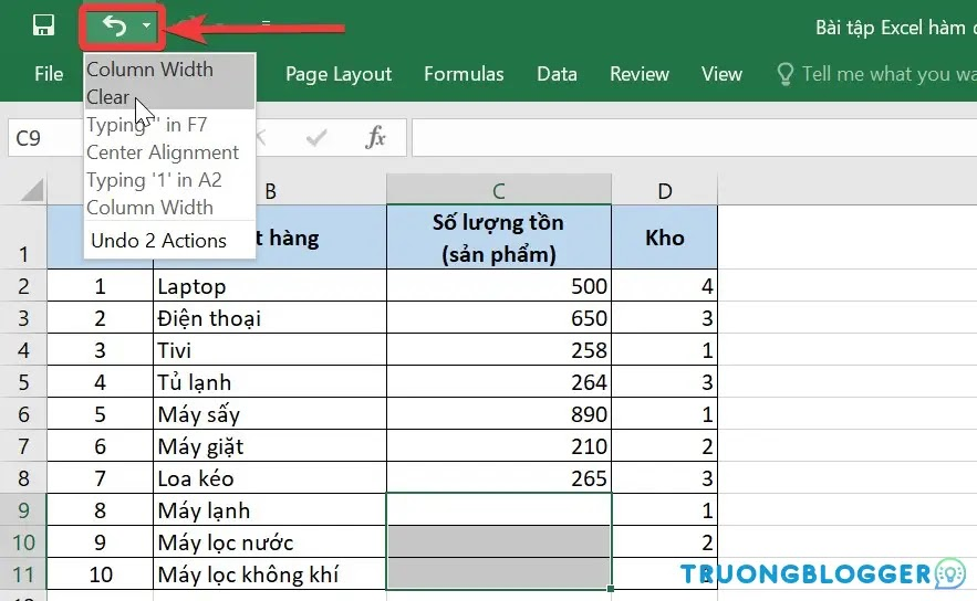 Cách khôi phục Sheet trong Excel bị xóa nhanh chóng, dễ thực hiện