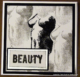 Visible Image stamp Beauty is Art