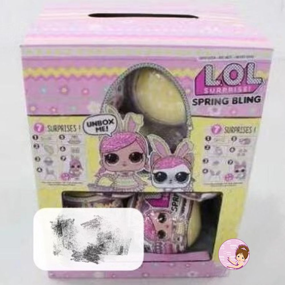 Easter 2020 L.O.L. Surprise Spring bling toys