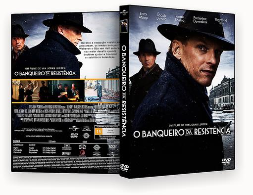CAPA DVD – O Banqueiro Da Resistencia DVD-R AUTORADO