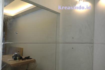 Kaca Cermin pemasangan di Rumah Bpk Yudha Kramatjati Jakarta Timur