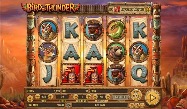 Main Gratis Slot Indonesia - Bird of Thunder Habanero
