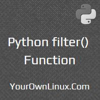 python-filter-function