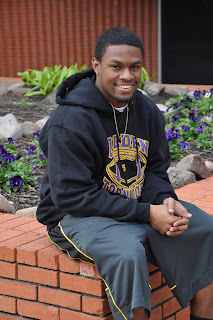 Richard Sincere Jr. would like to be a juvenile probation officer or coach after graduation.
