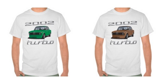 BMW 2002 turbo tees