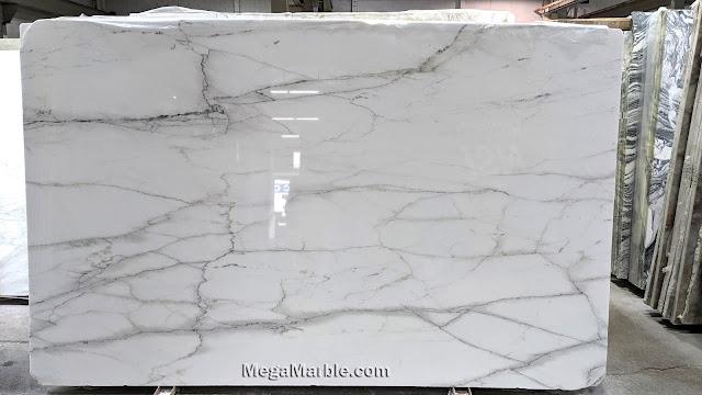 Calacatta Lincoln Marble Slab Polished 2cm
