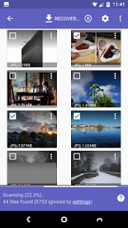 How to Recover your Deleted picture From Device victimisation Diskdigger app
