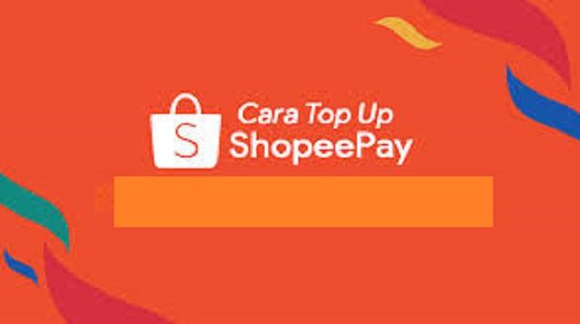 Cara Top Up ShopeePay
