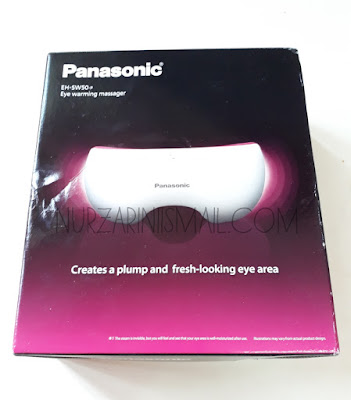 Terima Hadiah Eye Warming Massager Panasonic