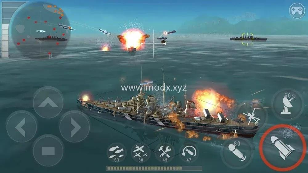 WARSHIP BATTLE: 3D World War II (MOD, Unlimited Money)
