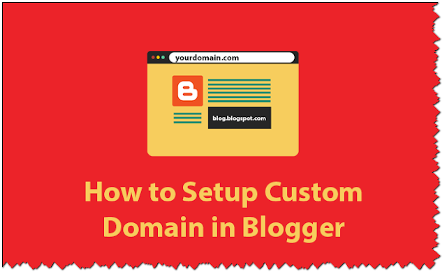 Add Custom Domain to Blogger