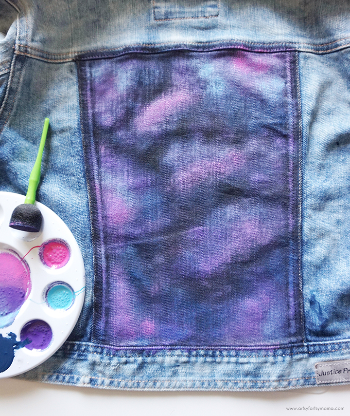 DIY Galaxy Jacket Pink Layer