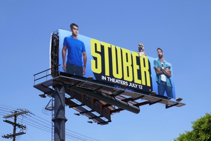 Stuber movie extension billboard