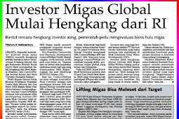 Global Oil and Gas Investors Start Leaving Indonesia