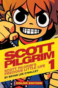 Scott Pilgrim   Veja como ficou a versao colorida da HQ. 10