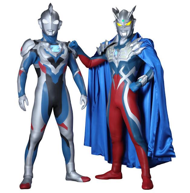 Ultraman Zett dan Ultraman Zero