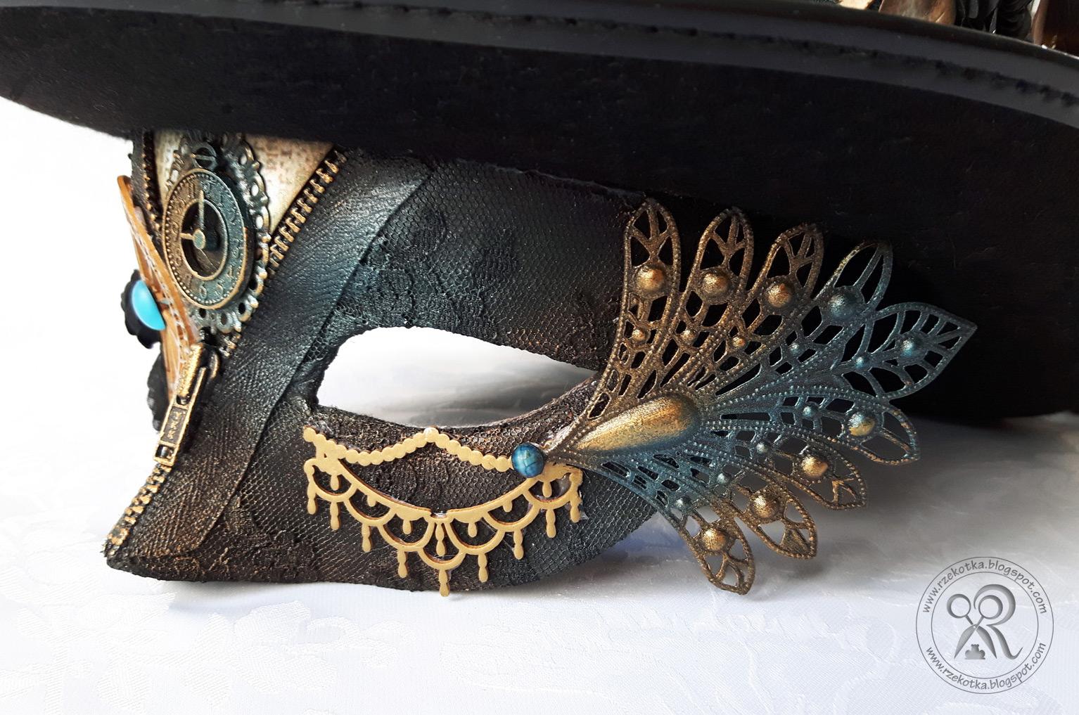 Maska karnawałowa zbliżenie