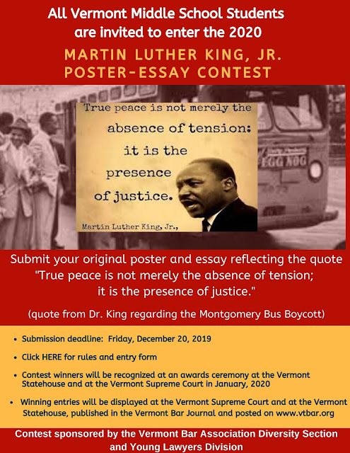 Martin luther king essay contest