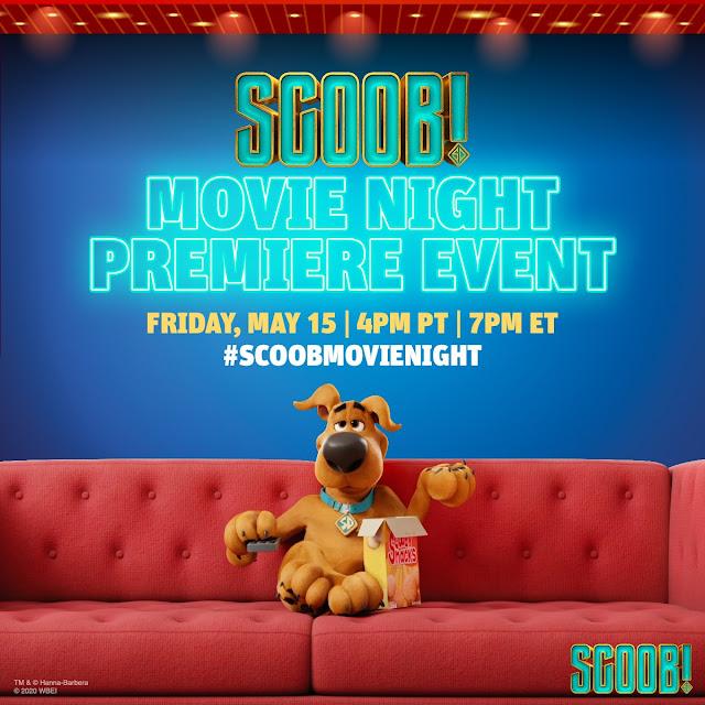 Warner Bros new releases, #SCOOBMovieNight