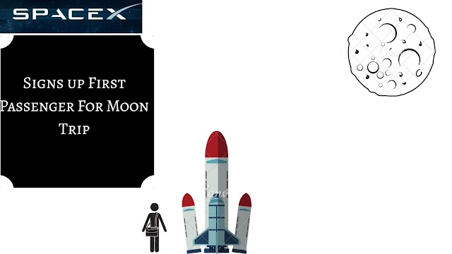 SpaceX Signs up First Passenger for Moon Trip