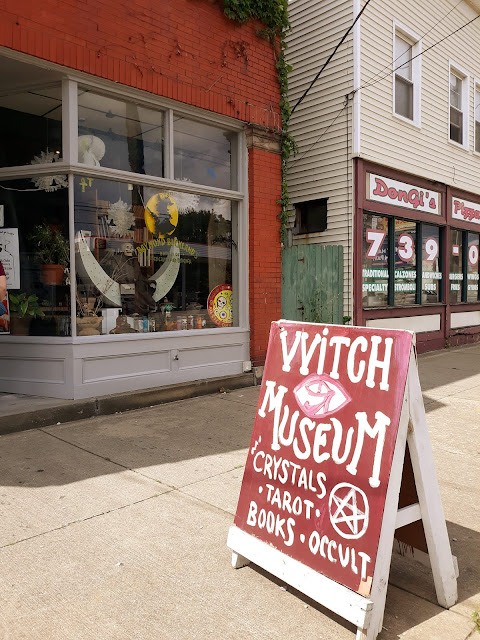Buckland Museum of Witchcraft and Magick. Cleveland, Ohio. Raymond Buckland. Occult. Wicca