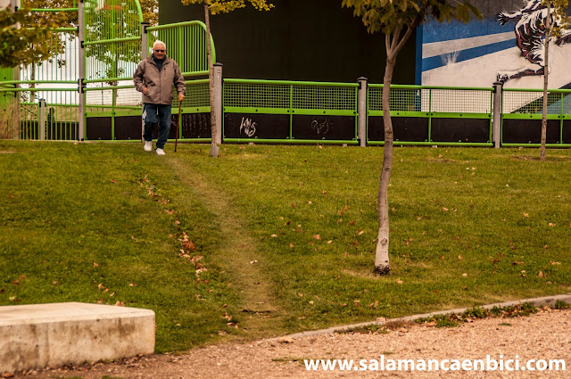 salamanca parques y jardines bici