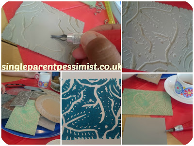 Lino Cutting with Anna Hayman