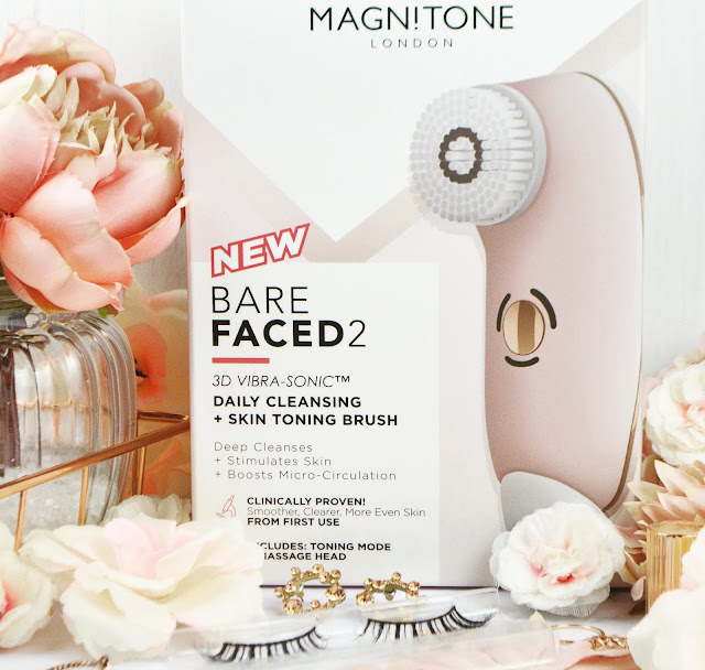 The Magnitone BareFaced 2 3D Vibra Sonic Daily Cleansing Brush, Lovelaughslipstick Blog