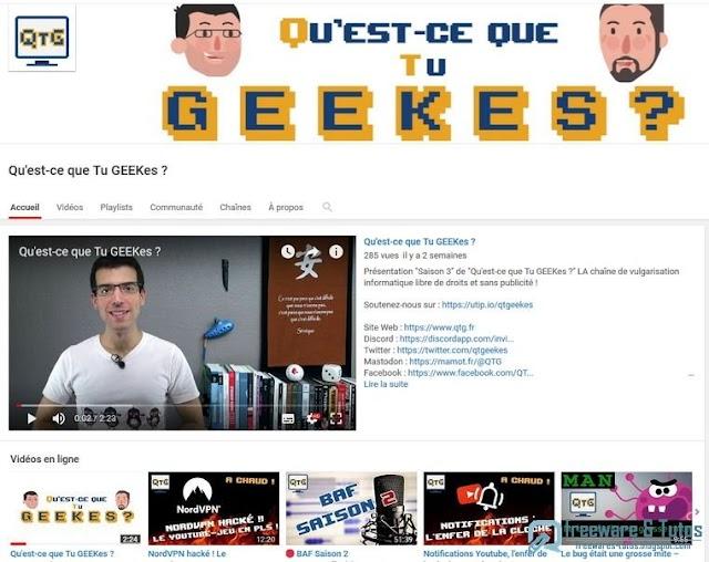 Le site du jour : Qu'est-ce que tu GEEKes ?