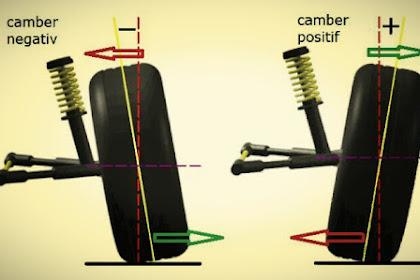 Ini Penting!! Akibat atau Pengaruh Setelan Sudut Camber Roda Yang Tidak Tepat Yang Harus Anda Ketahui