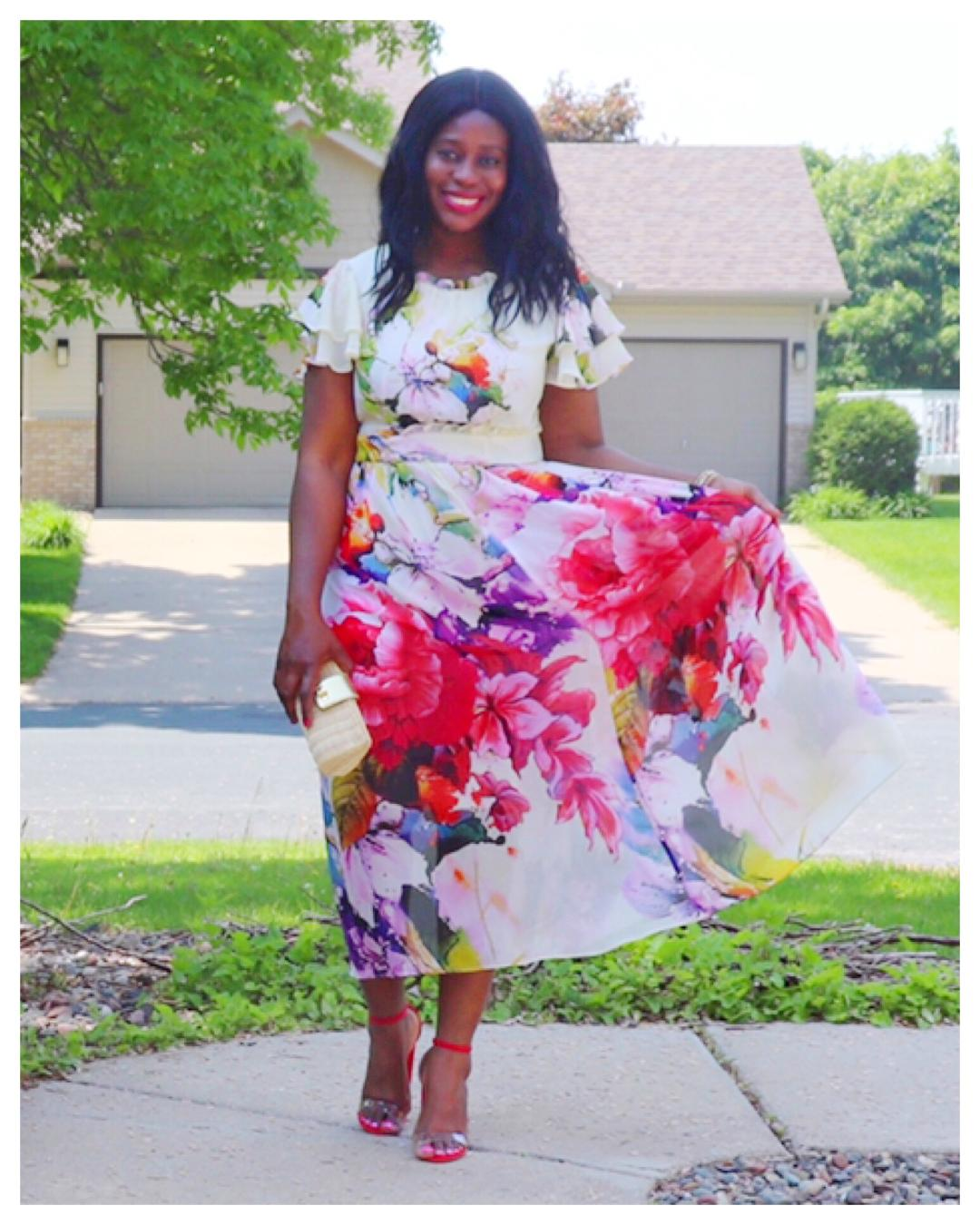 Fashion Beauty Zone: Beauty's Fashion Zone: Splashed In Florals For The Summer