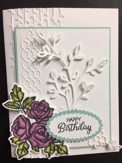 My Creative Corner Petal Palette Beautiful Bouquet Birthday Card