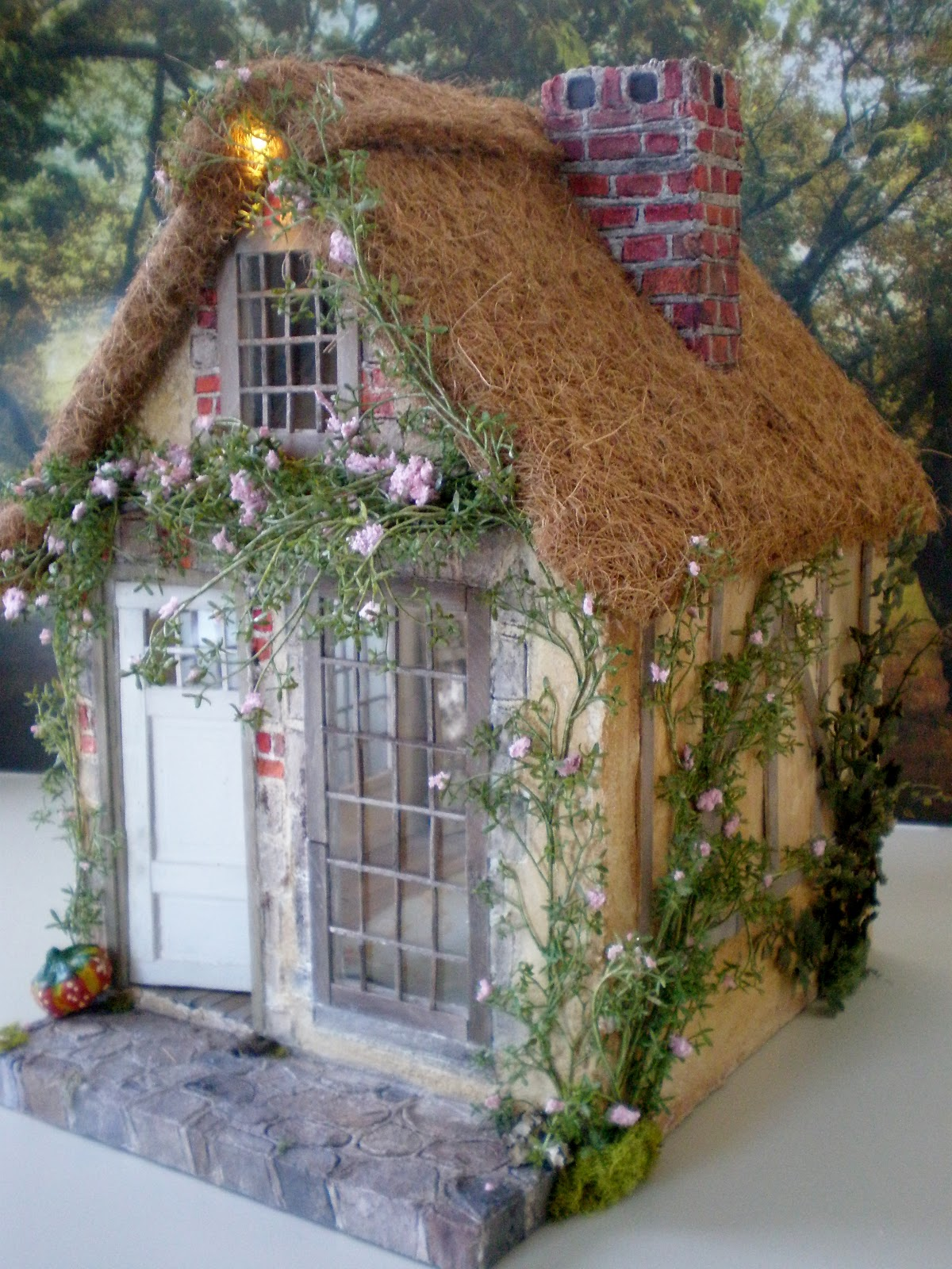 Cinderella Moments Marie Antoinette Cottage Dollhouse