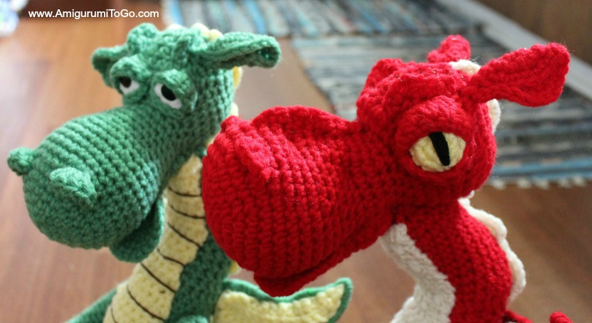 Fierce or Sleepy Dragon Pattern Part One of Three | 454x832