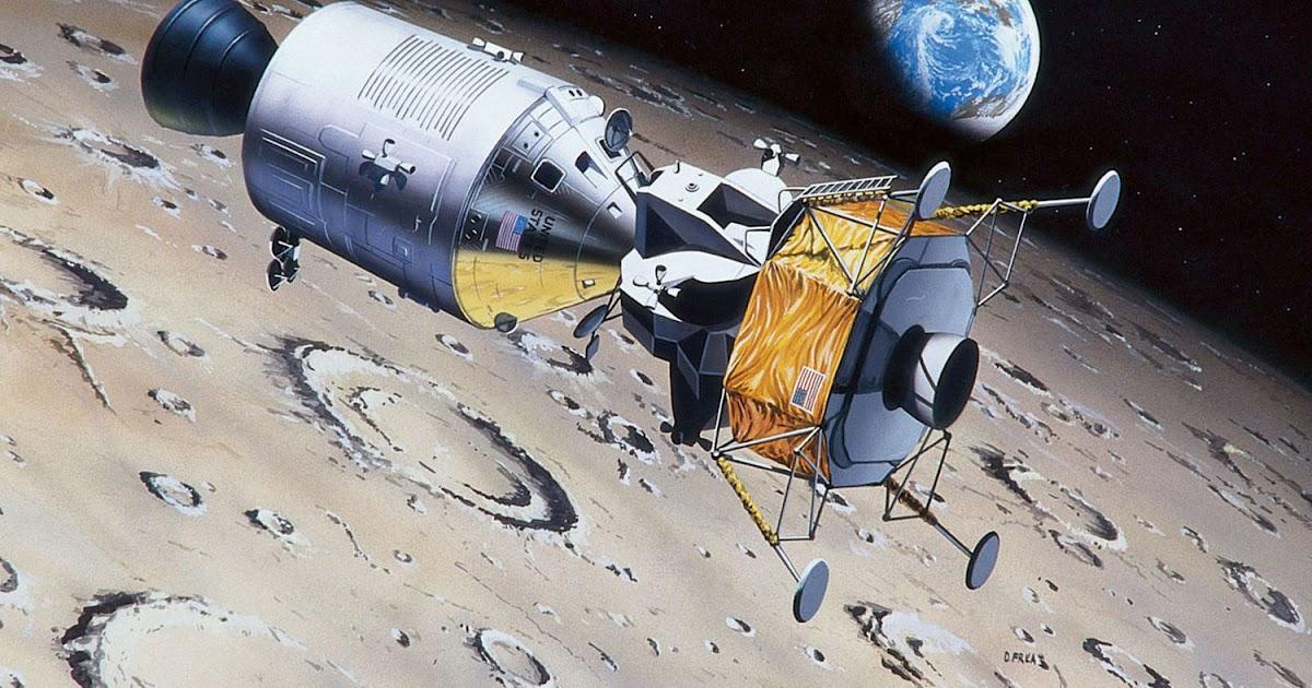 Revell 1//8 50th Anniversary Moon Landing 1969-2019 Apollo 11 Astronaut ##