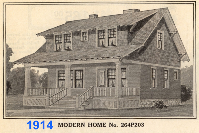 Sears No 203 in 1914 catalog