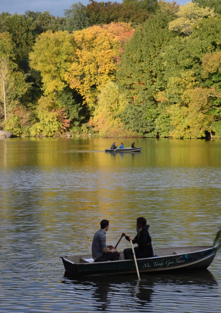 The Lake  in Central Park is breathtaking in fall! | Ms. Toody Goo Shoes #NewYorkCity