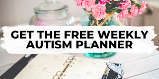 Free weekly autism planner newsletter