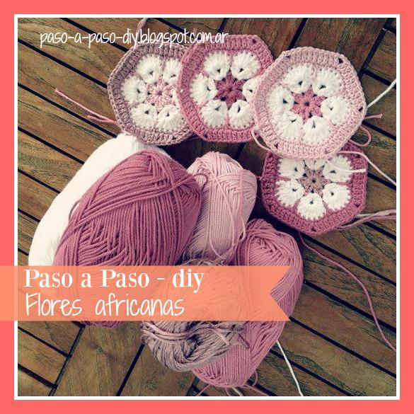 flor africana crochet paso a paso