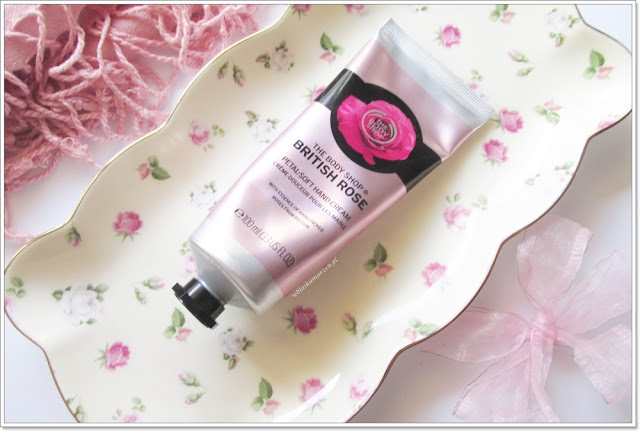 Krem do rąk The Body Shop British Rose
