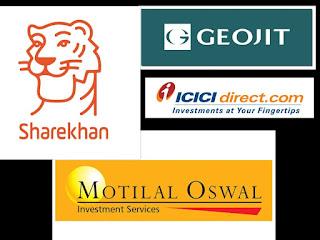 Full service brokers geojit sharekhan