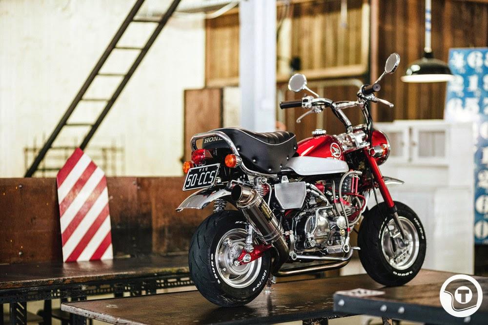 Great Ape Honda Monkey Bike Madness Return Of The Cafe
