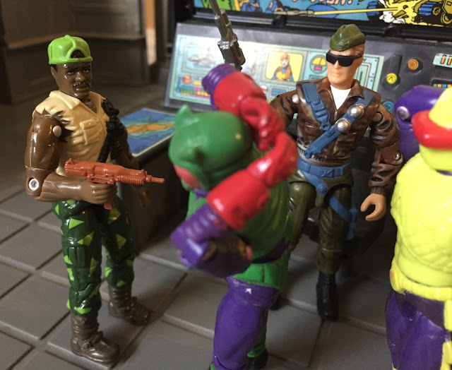 1991 Heavy Duty, Toxo Viper, Eco Warriors, 1993 Eel, Battle Corps, 2000 General Tomahawk
