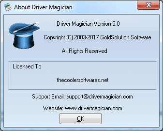 Driver Magician 5.0 Serial Key