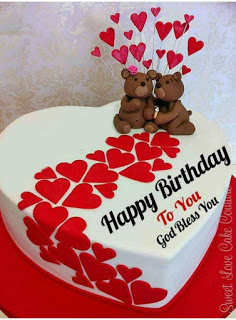 birthday cake images with hindi wish