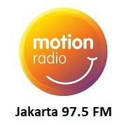MOTION FM JAKARTA RADIO STREAMING
