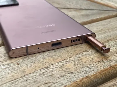 Ulasan Samsung Galaxy Note 20 Ultra: Desain