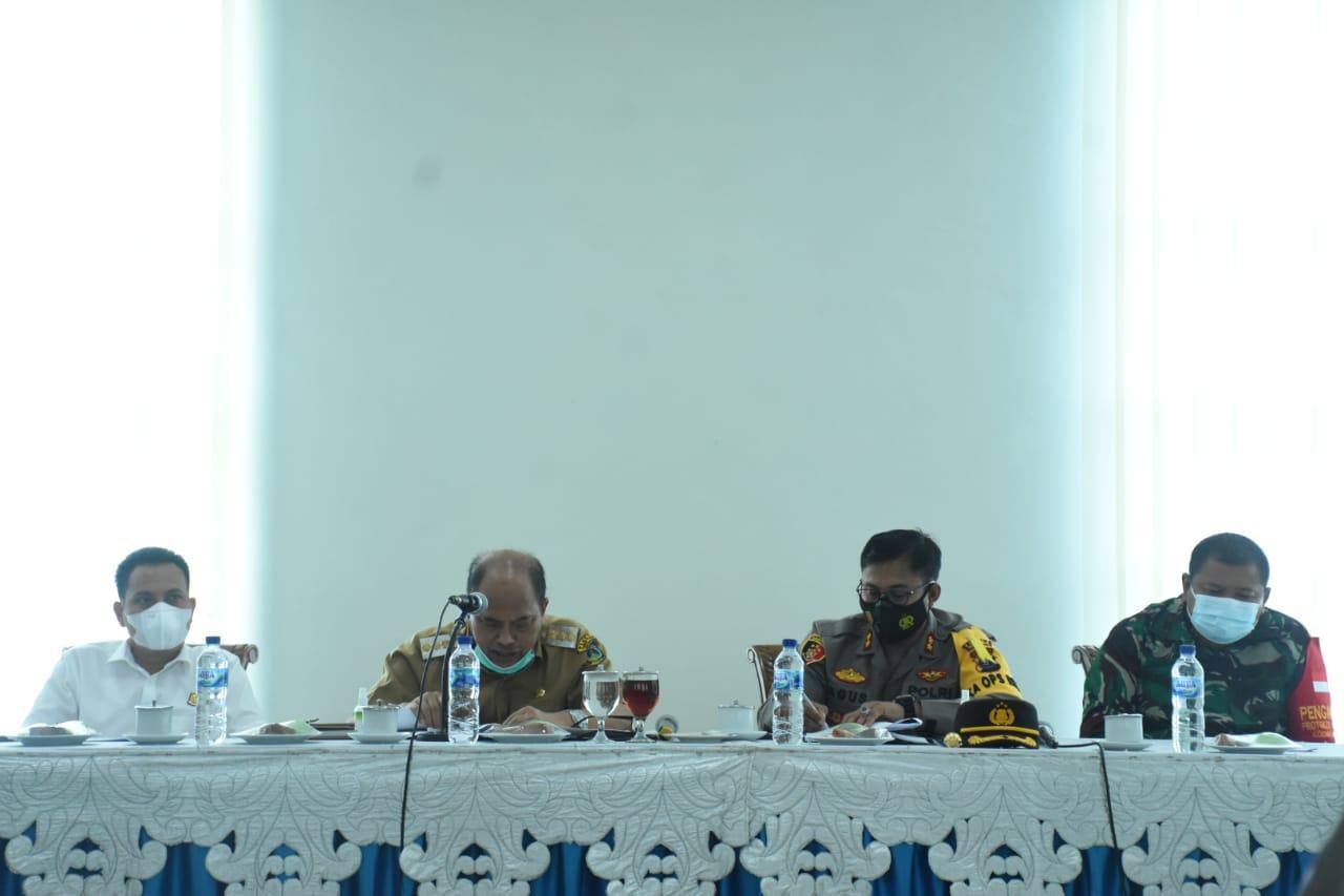 Ketua Satgas Covid-19 Kota Tebingtinggi Memimpin Rapat Koordinasi Pencegahan Penyebaran Covid-19